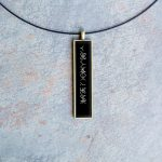 Unique survivor jewelry for sexual assault and rape survivors