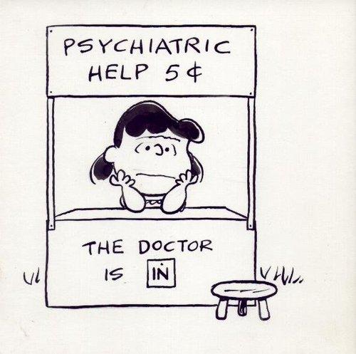 Lucy Van Pelt Psychiatric Help 5¢