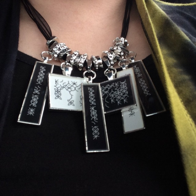 Statement jewelry with your personal message